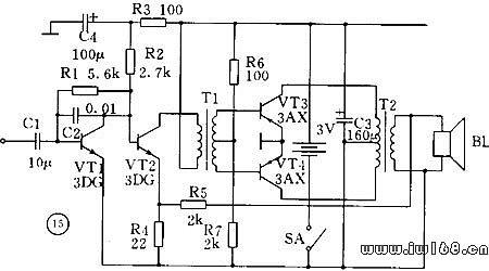 正反馈电路保证向振荡器输入端提供的反馈信号是相位相同的,只有这样