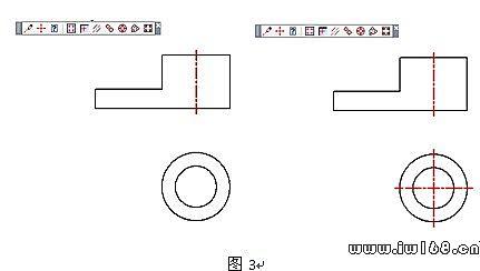 浩辰CAD2011機械_(七)中心線功能