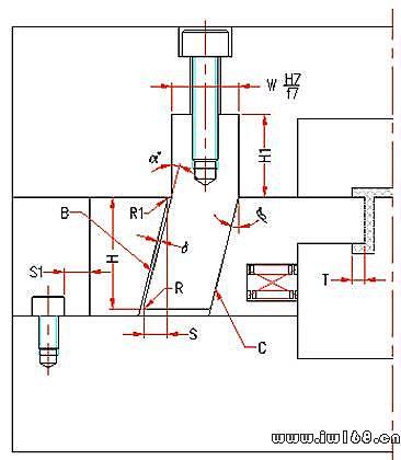 模具设计经验-滑块设计